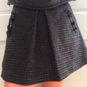 Children's Crewcuts sparkly skirt with pockets !